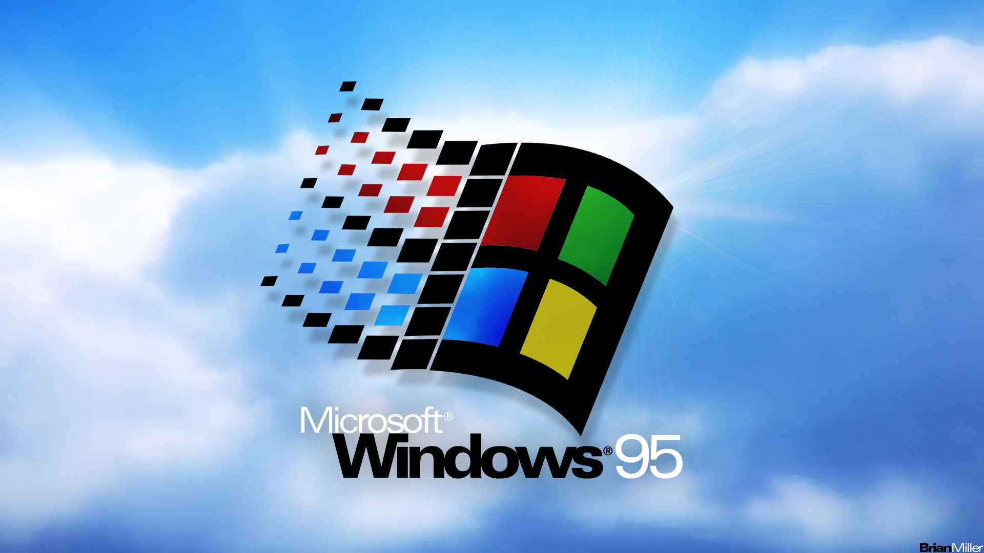 windows 95 widescreen wallpaper os customization tips