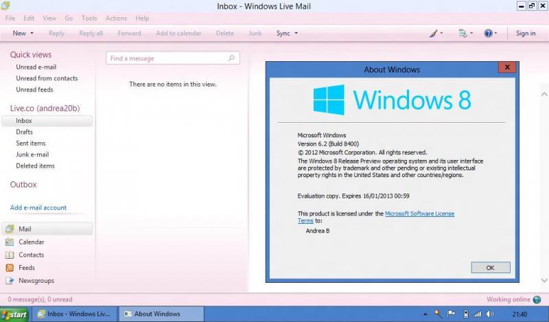 Outlook Express для Windows 8 img-1