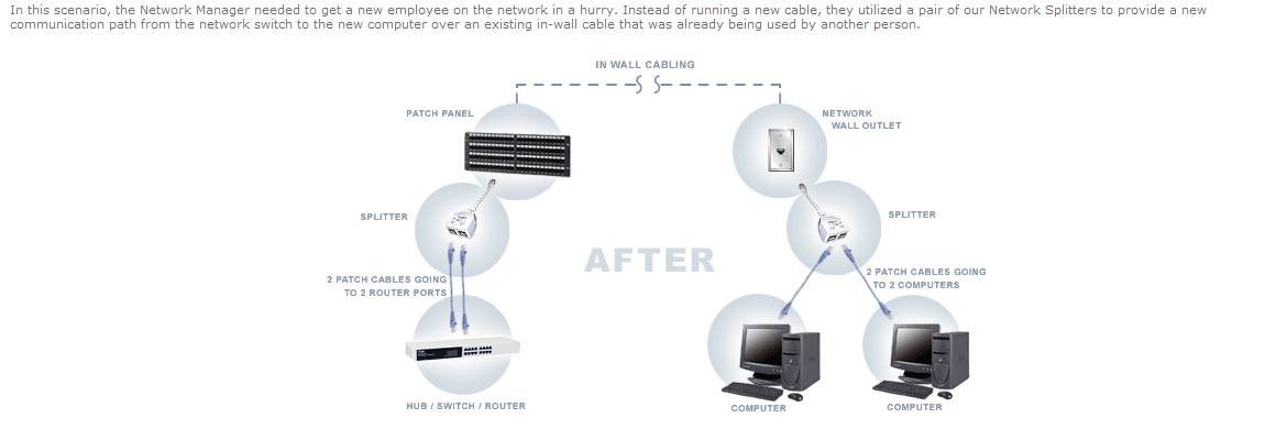 Cat5 Splitter Internet Network Amp Security Neowin Forums
